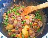 Lamb, peas,and potato stew#OnePotMeals recipe step 5 photo