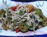Oseng Pindang Tongkol Toge langkah memasak 13 foto