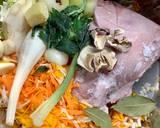 Krupnik na króliku o smaku jesieni krok przepisu 2 zdjęcie