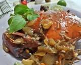 Kepiting Pedas Saus Tiram langkah memasak 4 foto
