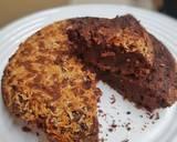 Fudge Brownies teflon langkah memasak 7 foto