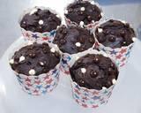 Muffin Chocolate langkah memasak 5 foto