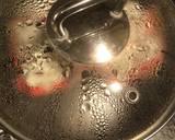 Bolu kukus motip buah Naga tanpa soda langkah memasak 5 foto