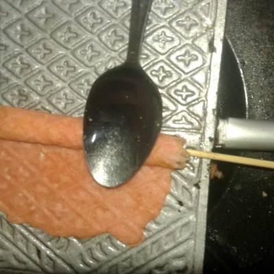 Langkah 12 Membuat Kue Semprong