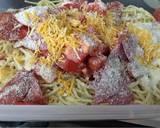 Italian spaghetti pasta salad recipe step 2 photo