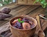 Kolak pisang ubi ungu langkah memasak 4 foto