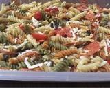Pepperoni pizza pasta salad recipe step 4 photo