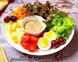 Salad Sayur Saus kacang langkah memasak 4 foto