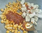 Paneer corn salad recipe step 4 photo