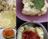 Tri-colour khichu recipe step 2 photo