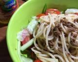 Salad spaghetti #pr_pasta langkah memasak 4 foto