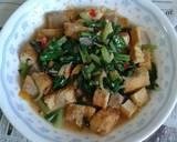 Tumis Sawi Ijo langkah memasak 5 foto