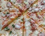 Pizza teflon (dough tanpa susu) langkah memasak 6 foto