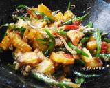 Tumis Teri Kentang Cabe Ijo langkah memasak 3 foto
