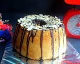 Chocolate Chiffon Cake (Chiffon Cake Putih Telur) langkah memasak 8 foto