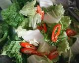 Cah Sawi Putih dan Telur langkah memasak 2 foto
