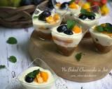 No Baked Cheesecake in Jar langkah memasak 6 foto