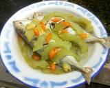 Ikan asin tim pare langkah memasak 3 foto