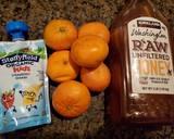 Es Lilin Jeruk / Orange popsicle langkah memasak 1 foto