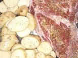 Foto del paso 1 de la receta Colita de cuadril al horno con papas rústicas