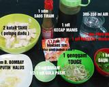 Sup Tahu Tauge Pedas langkah memasak 1 foto