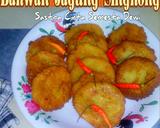 Bakwan Jagung Singkong langkah memasak 4 foto