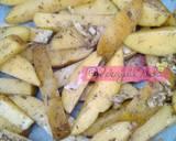 Resep Potatoes Wedges Panggang langkah memasak 5 foto