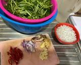 27. Tumis Kangkung Teri Medan langkah memasak 1 foto