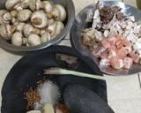 Ayam Jamur Bumbu Kecap (topping mie ayam) langkah memasak 1 foto