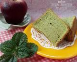 429. Chiffon Matcha/Green Tea Putih Telur #RabuBaru #BikinRamad langkah memasak 14 foto