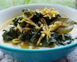 Gulai Daun Pepaya Jepang & Teri Medan langkah memasak 2 foto
