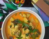 Kare Ayam sayur daun kemangi langkah memasak 4 foto
