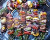 Chicken kebab barbeque#aurthors marathon recipe step 6 photo