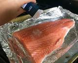 Fridge Cleanout Pan Roasted Salmon with Tomato, Artichoke Hearts & Roasted Veg