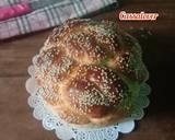 Challah Bread - Braides Bread langkah memasak 7 foto