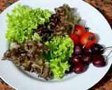 Salad Sayur Saus kacang langkah memasak 1 foto