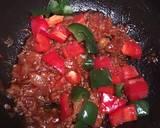 Black Pepper Beef Teflon Pizza (No Mixer, No Oven) langkah memasak 4 foto