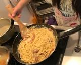 Simple Carbonara tanpa cream langkah memasak 4 foto