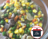 Tumis capcay kacang polong jamur jagung baso #homemadebylita langkah memasak 6 foto