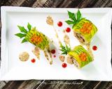 Teriyaki Chicken Sushi Roll langkah memasak 8 foto