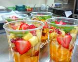 Mix Fruit Cocktail langkah memasak 5 foto