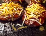 Something unique but still yummy, or pepperoni burger with cauliflower bun recipe step 4 photo