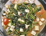 Cah Kangkung Belacan Mix Tahu langkah memasak 4 foto