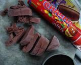 Choco magma langkah memasak 2 foto