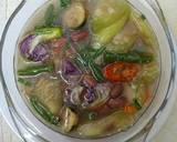 Sup Oyong Kembang Turi Pedas langkah memasak 5 foto