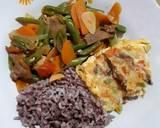 Omelette ala Hotel langkah memasak 2 foto
