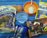 Brownies Oreo Nutricake langkah memasak 1 foto