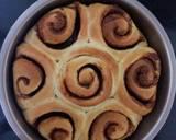 Bánh mì cuộn quế bước làm 7 hình