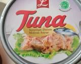 Salad dan Tuna langkah memasak 3 foto