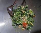 Spinach Omelet langkah memasak 2 foto